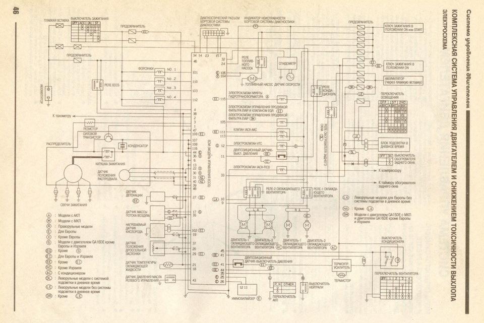 Схемы для сопряжении проводки