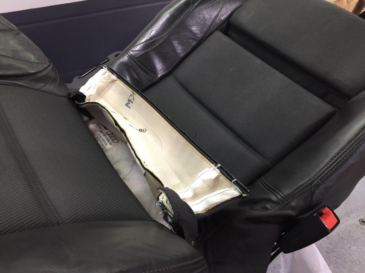 не работает подогрев водительского сидения audi a4
