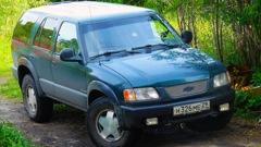 """Несколько (известных и не очень) фактов о весьма любопытной модели внедорожника - елабужском  """"Chevrolet Blazer """"..."""