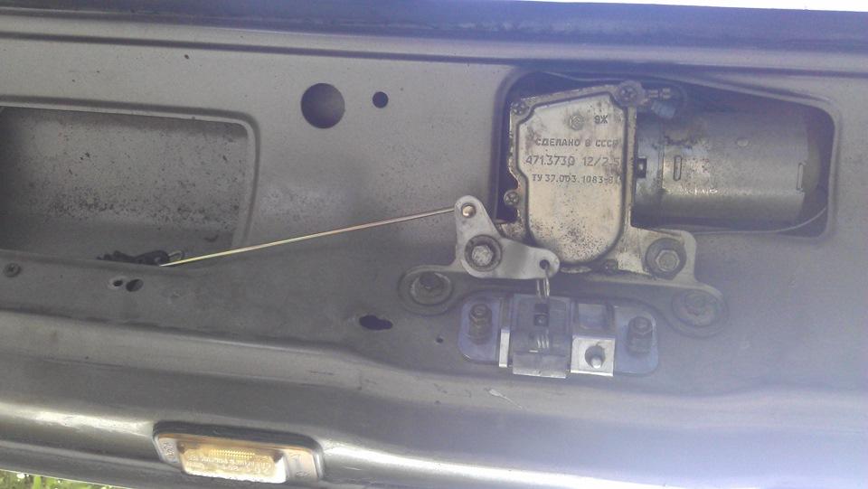 Как сделать багажник с кнопки на ваз 2109