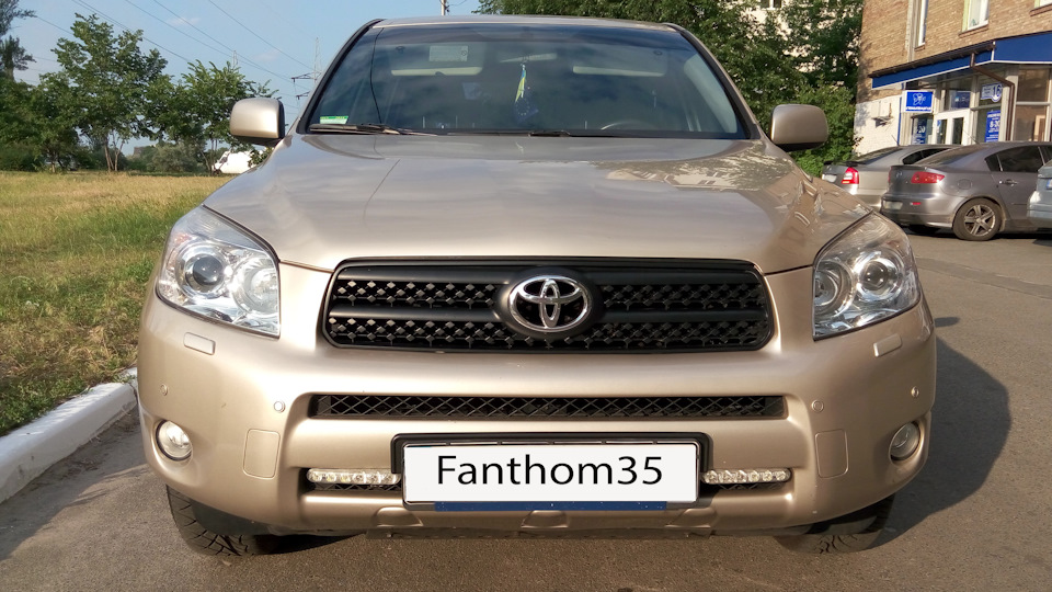 toyota rav4 2006 подсветка коробки передач
