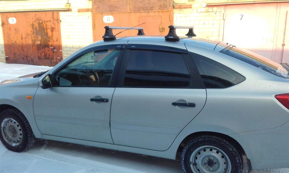 Багажник на крышу автомобиля на гранту 168