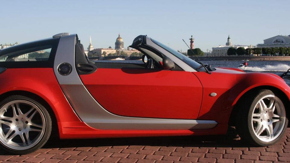 smart roadster rcr 39 90 spice red drive2. Black Bedroom Furniture Sets. Home Design Ideas