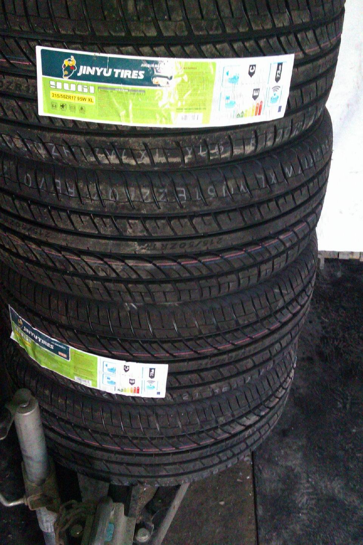 Прикупил диски pg17 резину jinyu yu61 215 50 r17