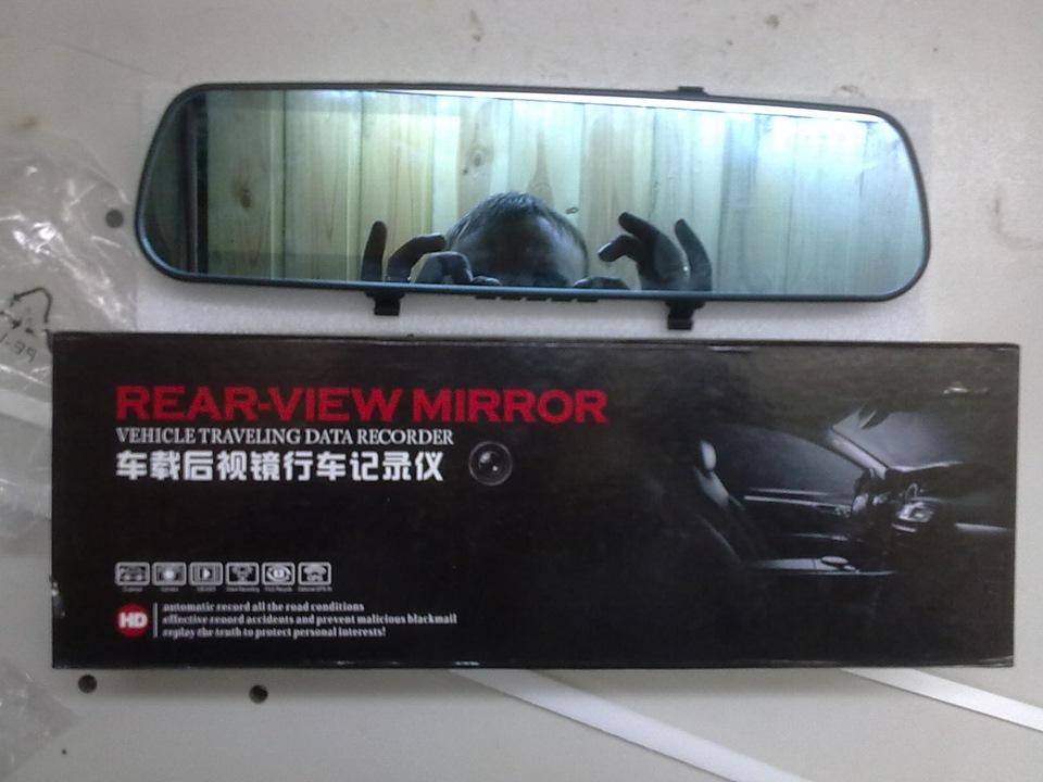 Зеркала с регистратором и камерой заднего вида