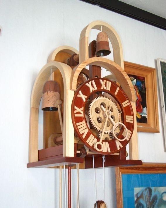 Механические часы из дерева своими руками фото 392