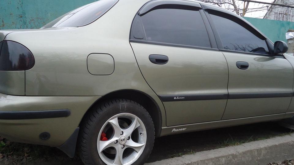 Daewoo Lanos Хаки 1,5i   DRIVE2