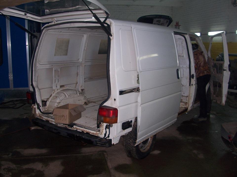 ремонт кузова транспортера