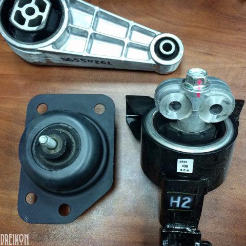 легкая вибрация двигателя chevrolet lacetti