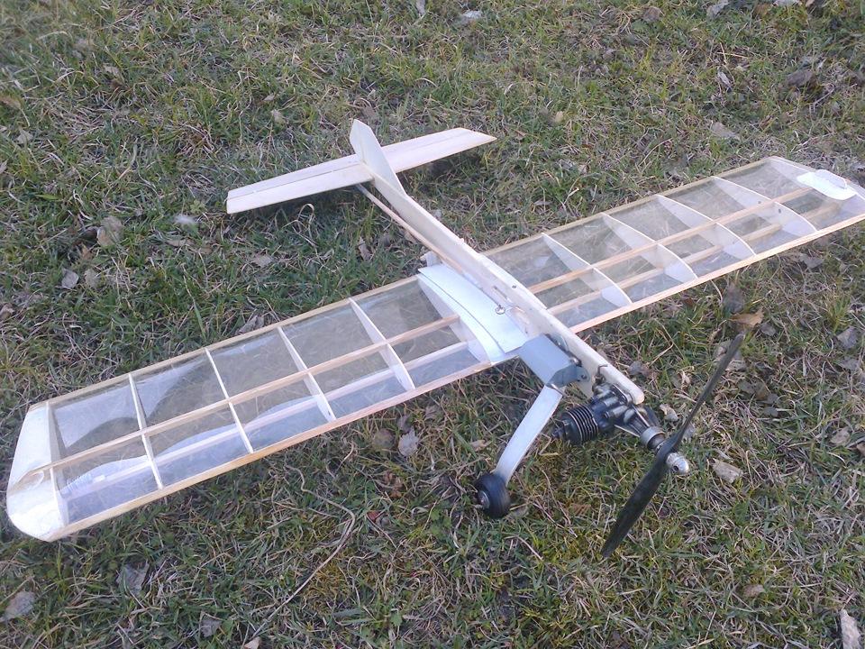 Как сделать кордовую модель самолета