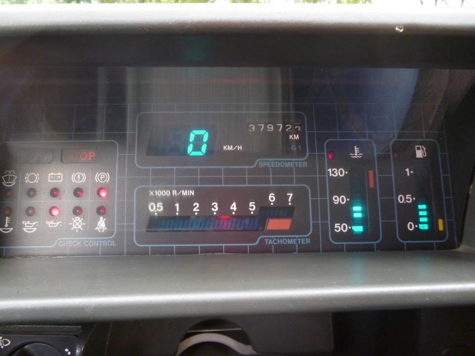 Фото №22 - электронная панель приборов на ВАЗ 2110