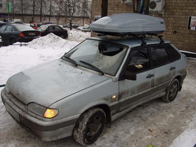 Багажник на крышу 2114