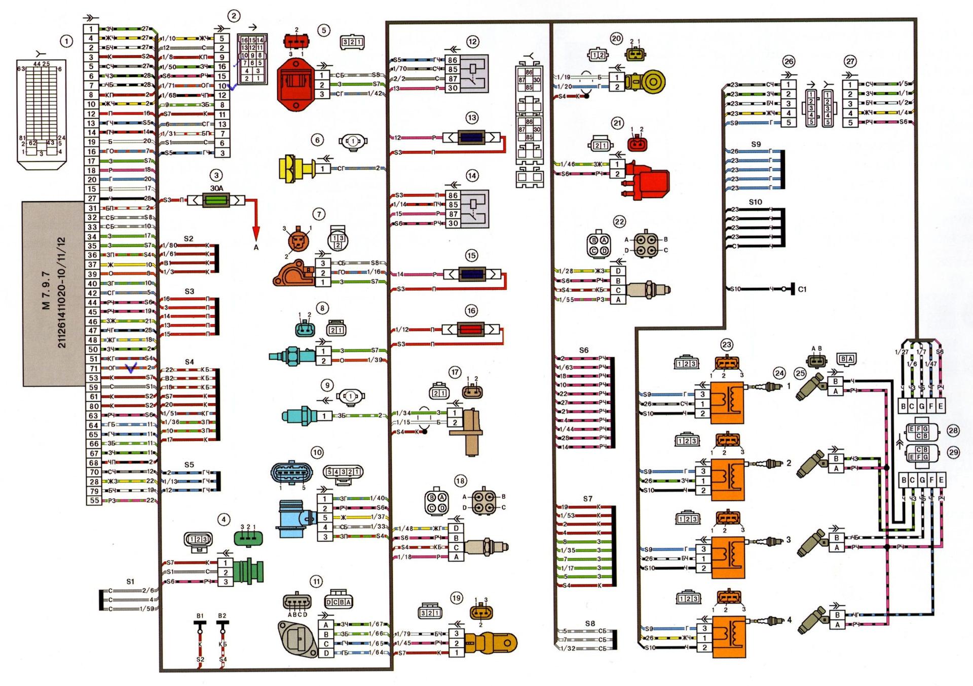 Электроусилитель руля на ВАЗ 2107: основные 35