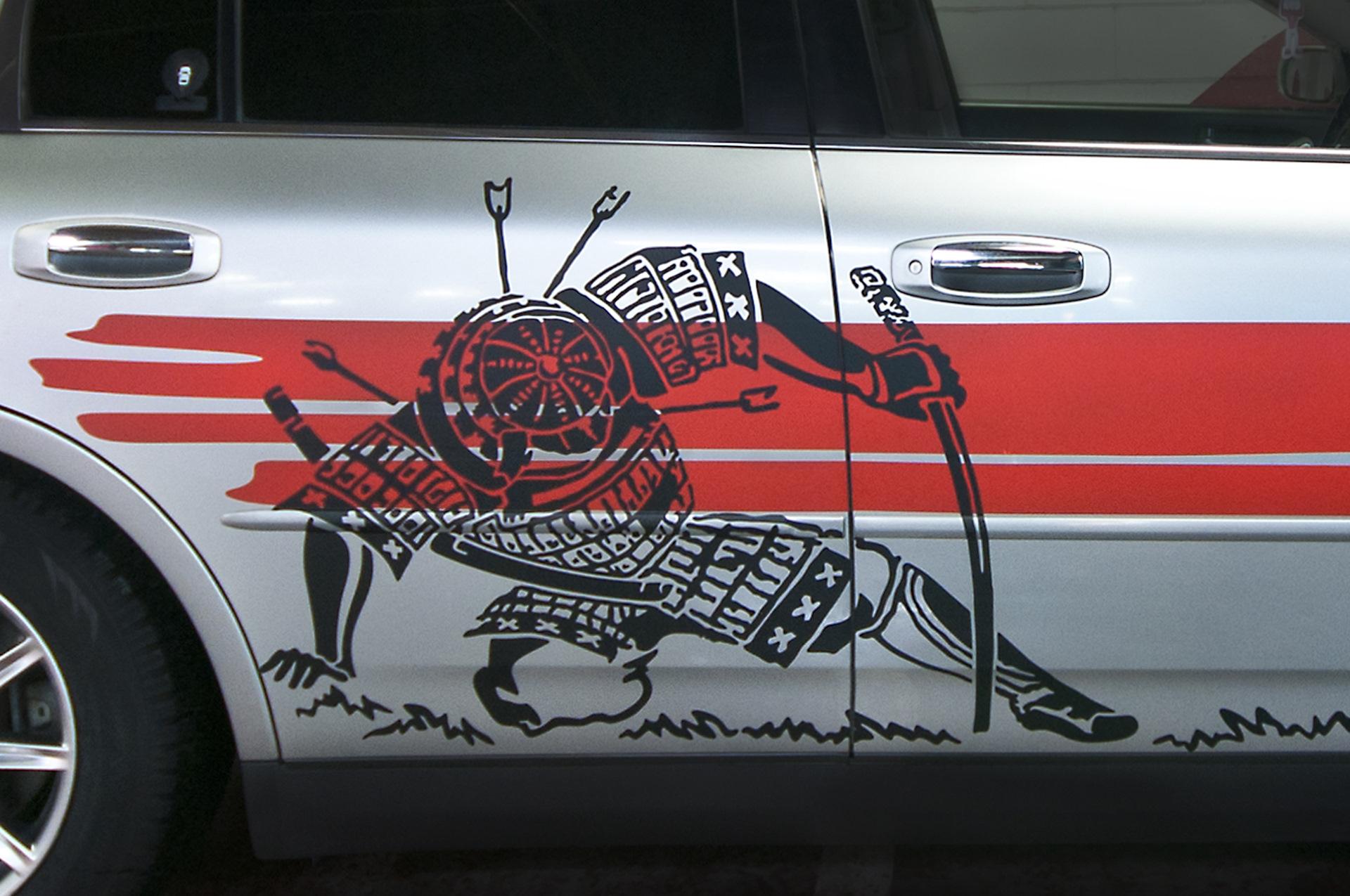 картинки машин с самураями степей это один
