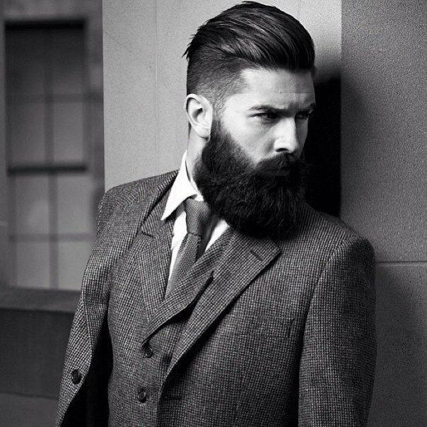 фото стильные мужские бороды