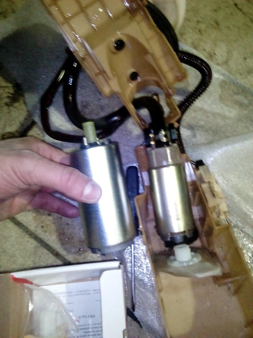 nissan primera p11 топливный насос