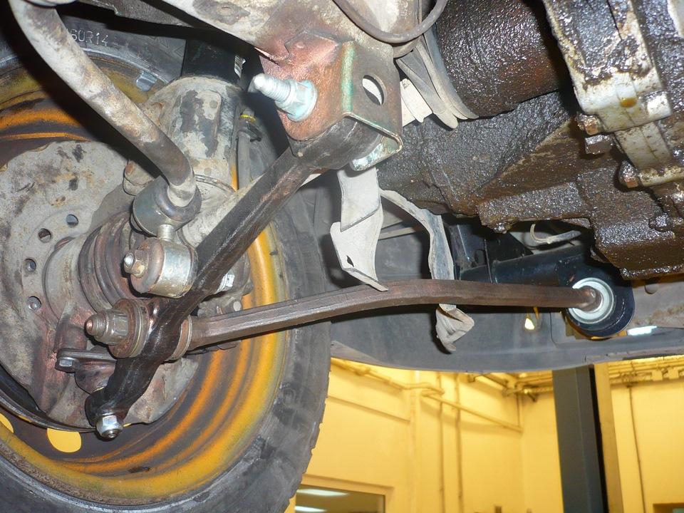 Замена передней подвески ваз 2112