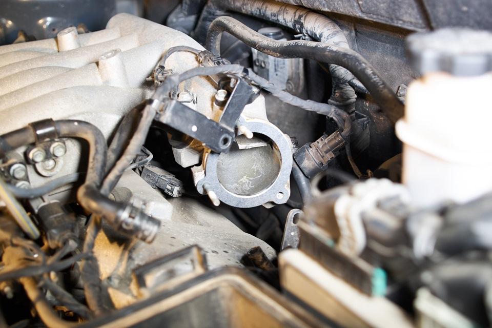 Приёмная труба впускного коллектора Hyundai Santa Fe