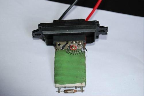 как тестировать резистор отопителя renault megane i