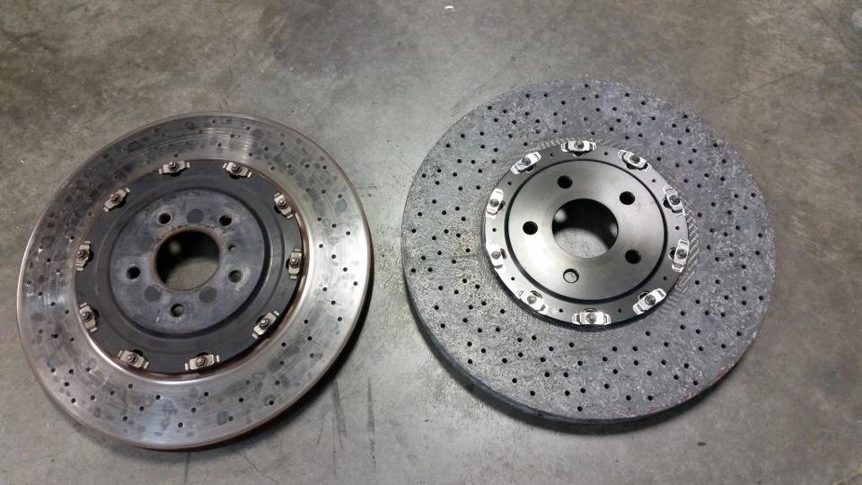керамические тормоза для nissan gt-r