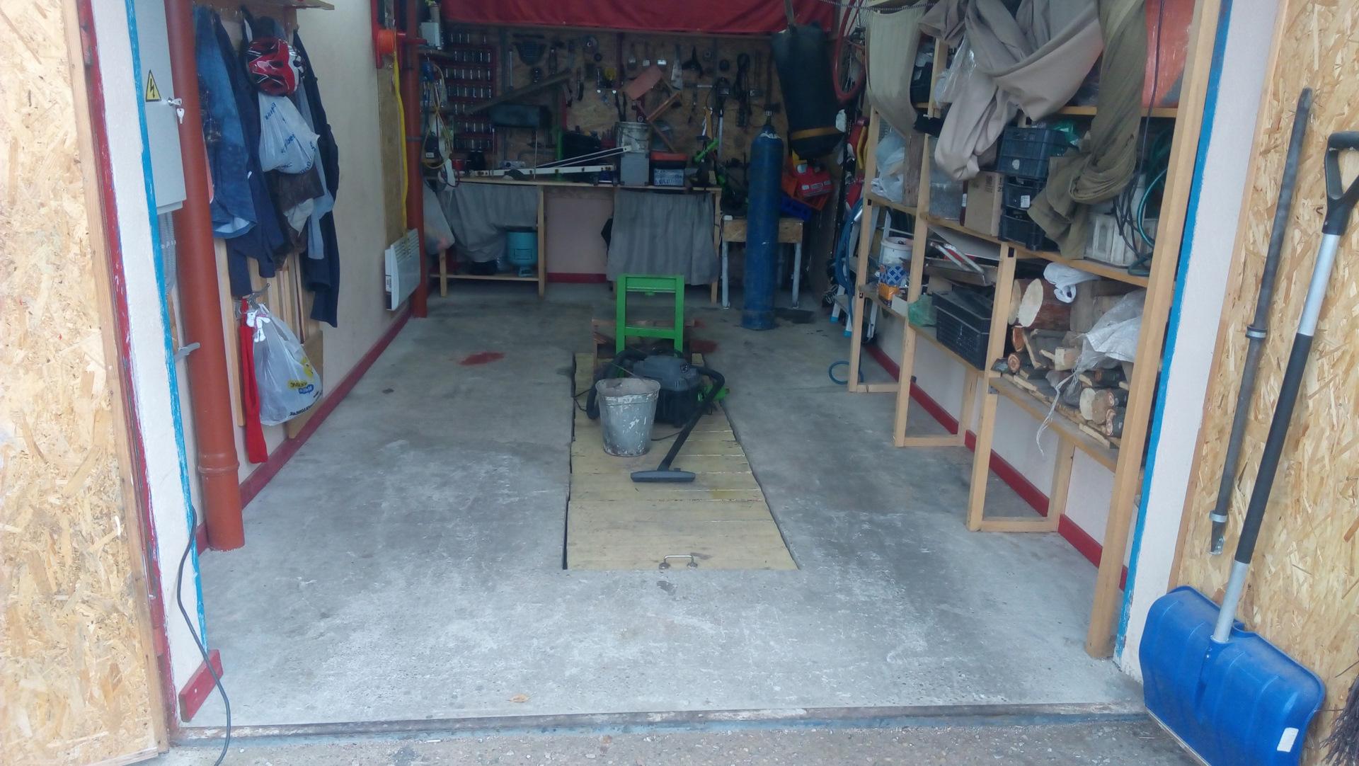 Заливка крыши в гараже своими руками
