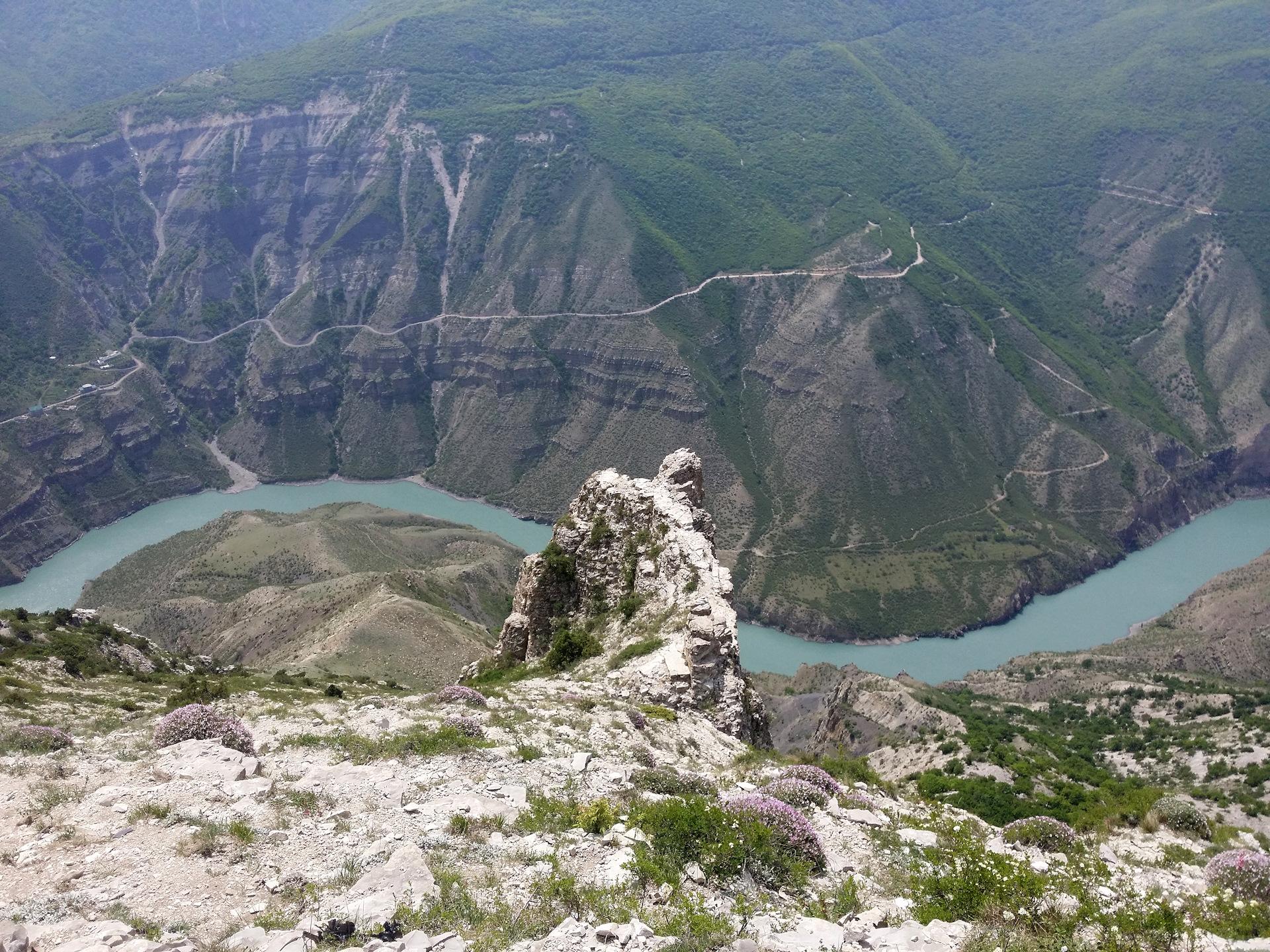 Картинка сулакский каньон