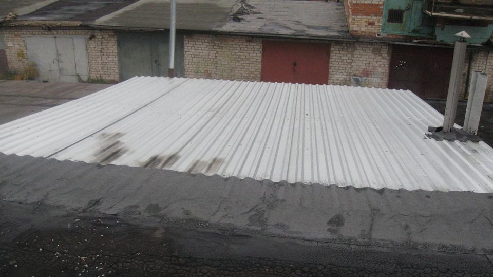 Купить рубероид на крышу гаража купил ворованный гараж