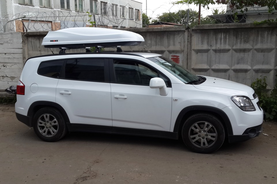 рейлинги на крышу автомобиля chevrolet орландо