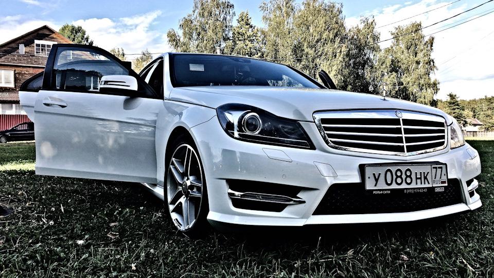 Mercedes-Benz C-class C 180 CGI BlueEFFICIENCY Logbook