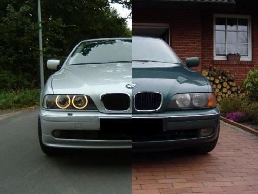 BMW e30 рестайлинг и дорестайлинг