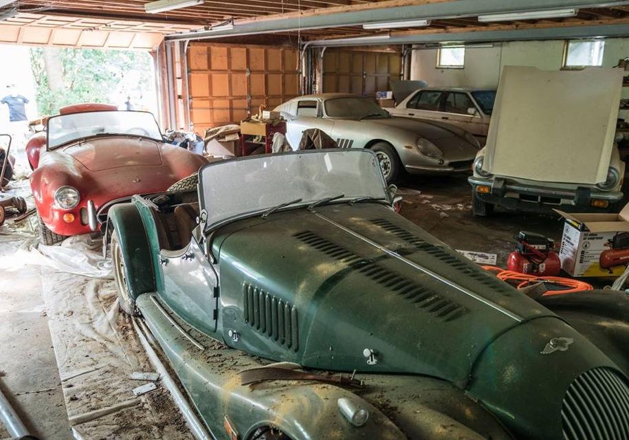 Фото автомобилей простоявших в гаражах много лет