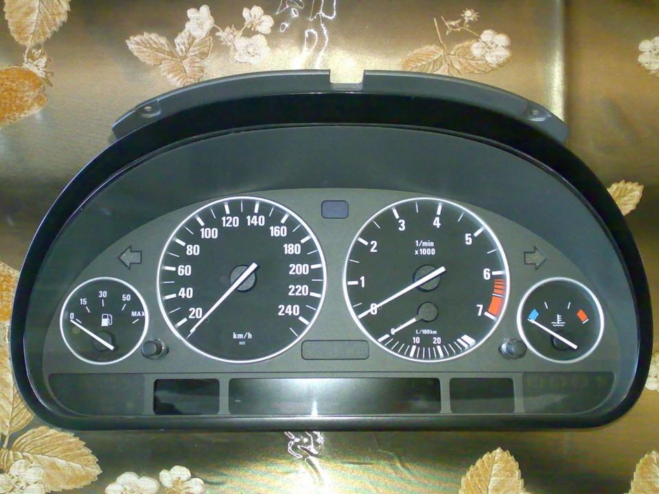 BMW e39 приборная панель low high