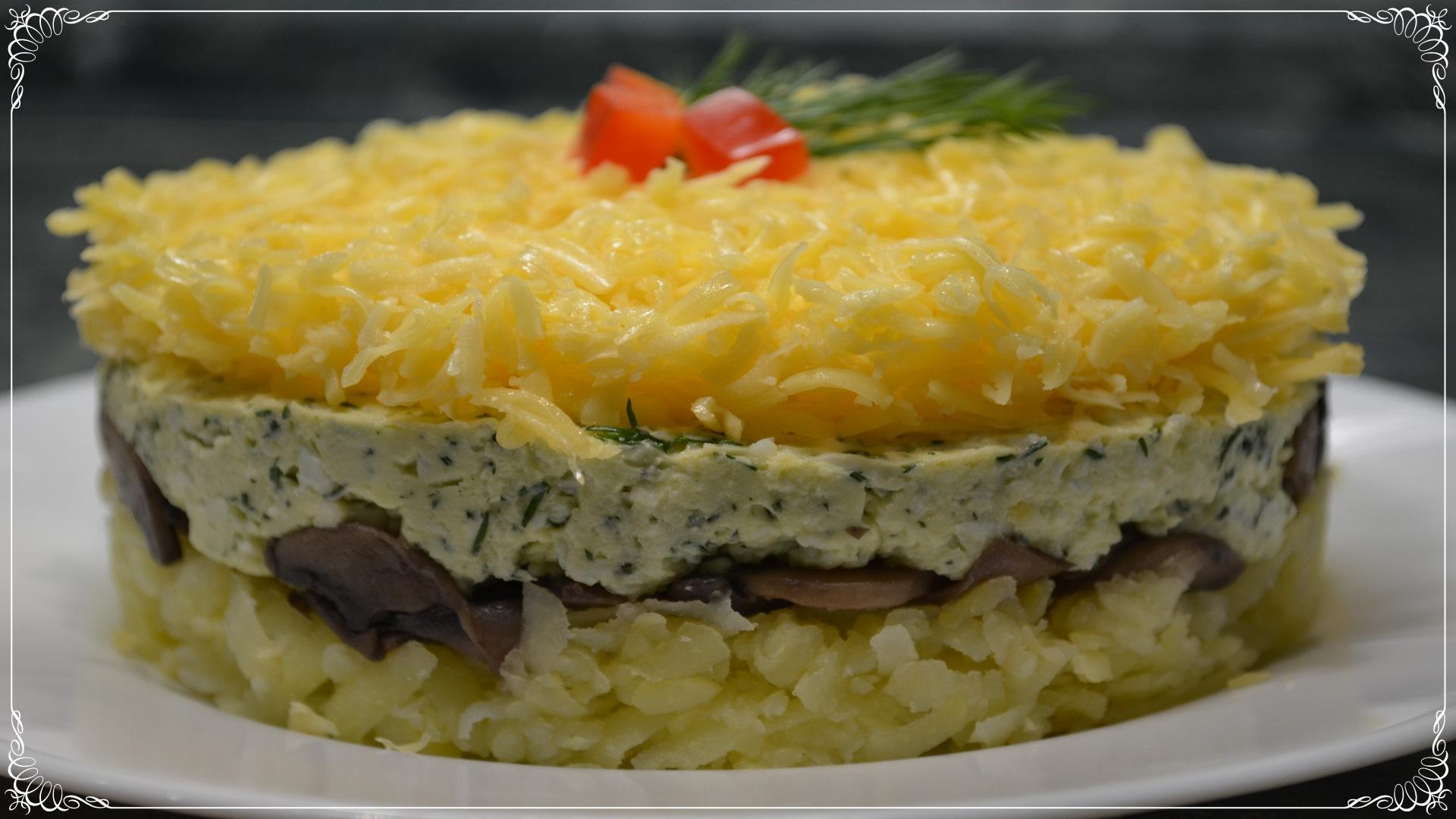 Рецепты простых салатов на новый год 2017 рецепты с простые и вкусные