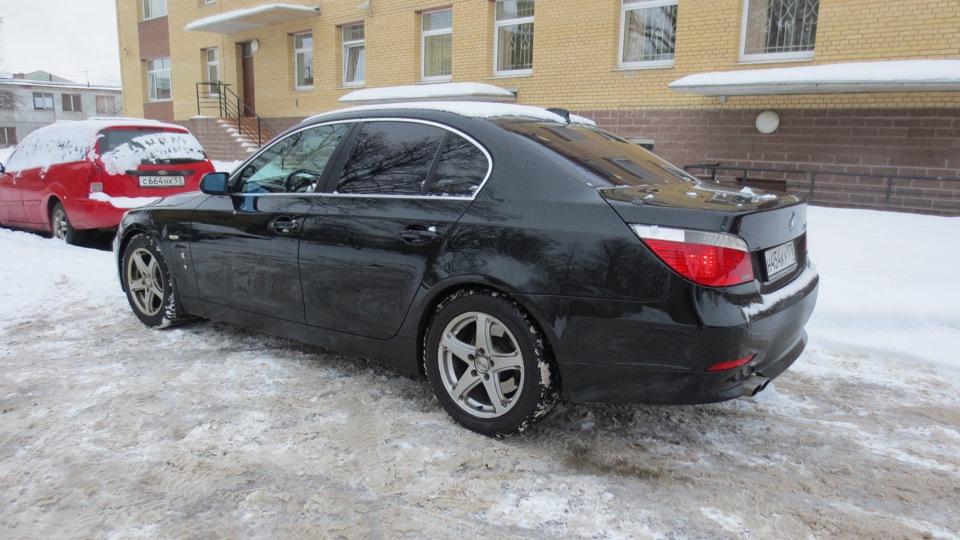 расход топлива у BMW e60 545