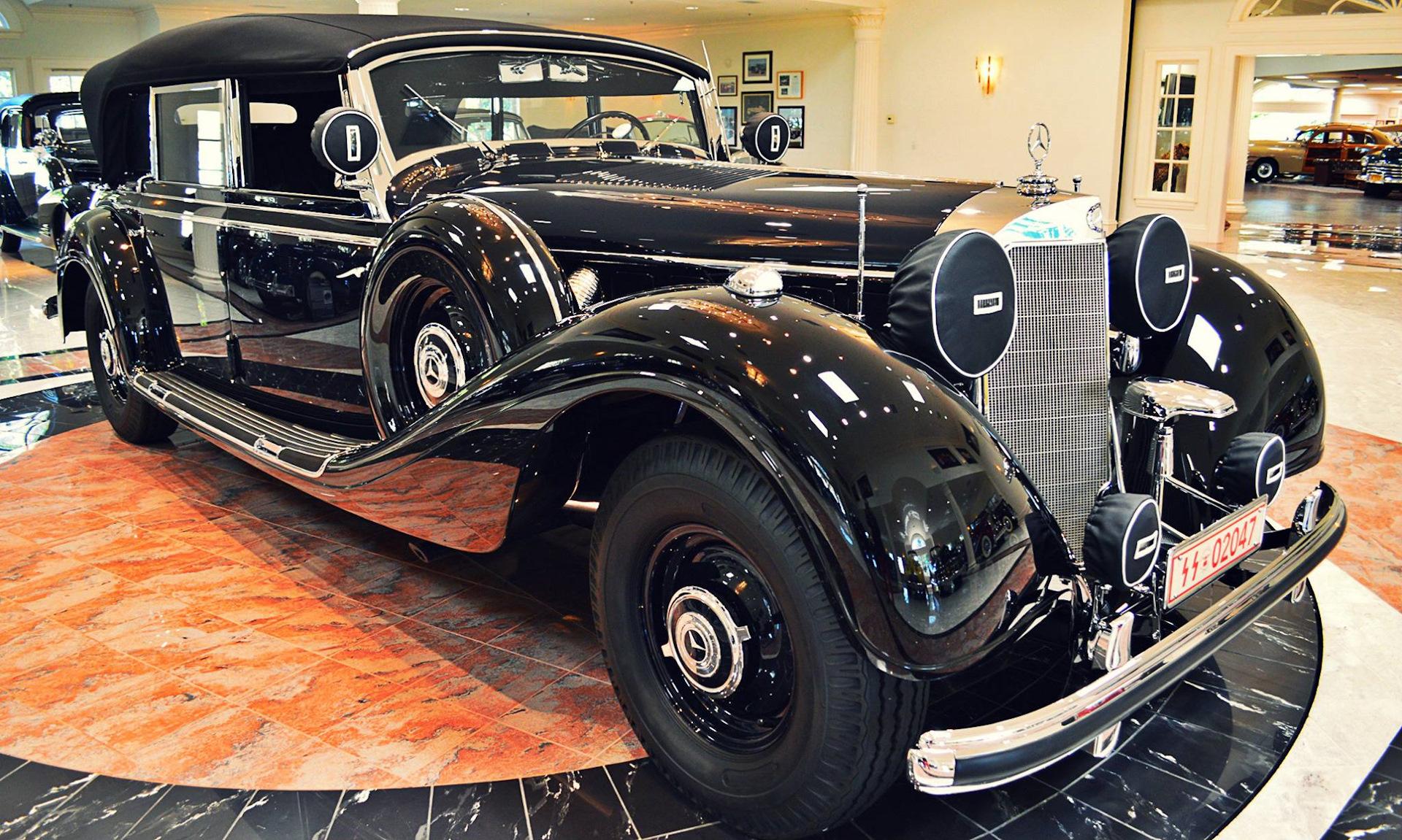 mercedes benz 770 k w 150 39 gro er mercedes 39 offener tourenwagen 1941 drive2. Black Bedroom Furniture Sets. Home Design Ideas