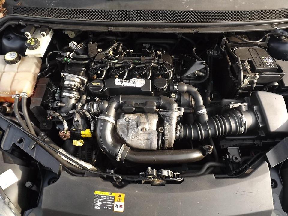 Замена сердцевины Турбины Ford Focus 1,6 TDCI