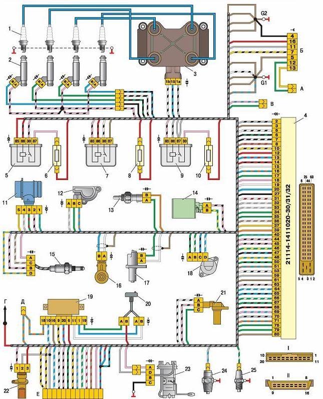 двигателем 11183 (21124) с