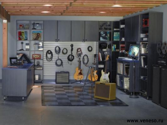 интерьеры гаражей фото