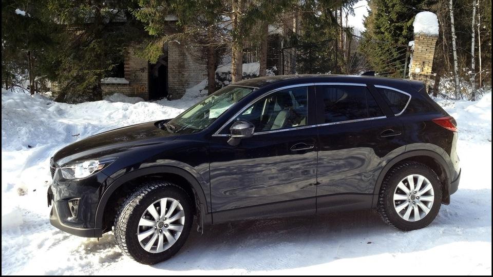 Mazda CX-5 BlackSport немного хрома   DRIVE2: https://www.drive2.ru/r/mazda/300235/