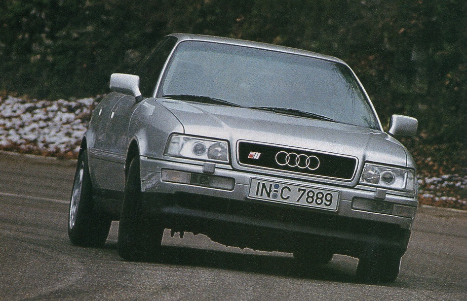 Audi S2. Скан из журнала