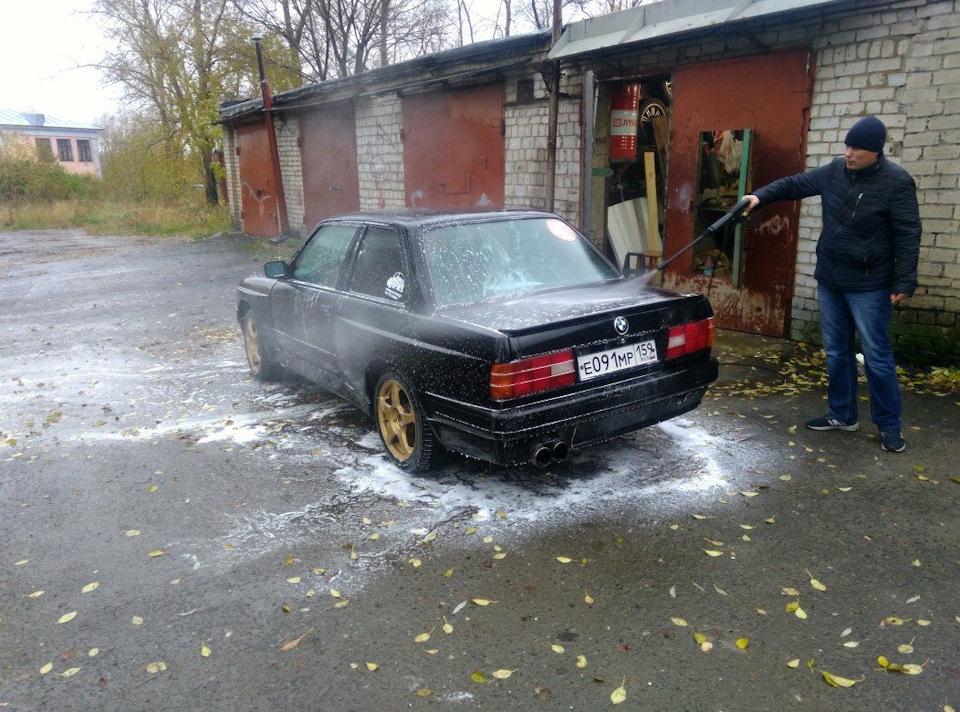 Автомойка в гараже своими руками