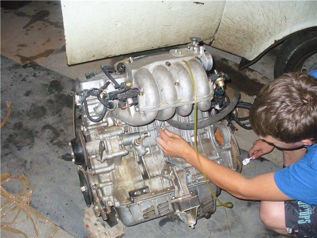 Ремонт двигателя своими руками москвич