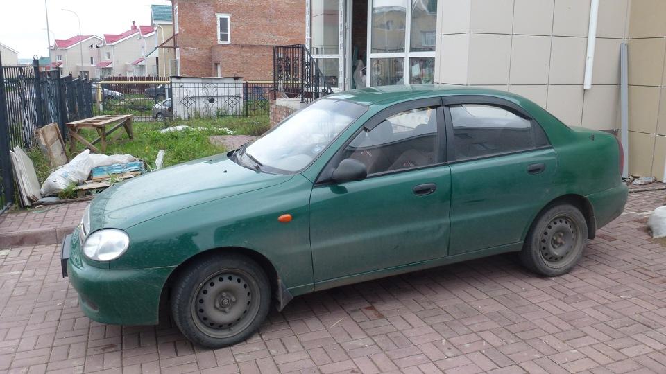 зелёный ланос фото