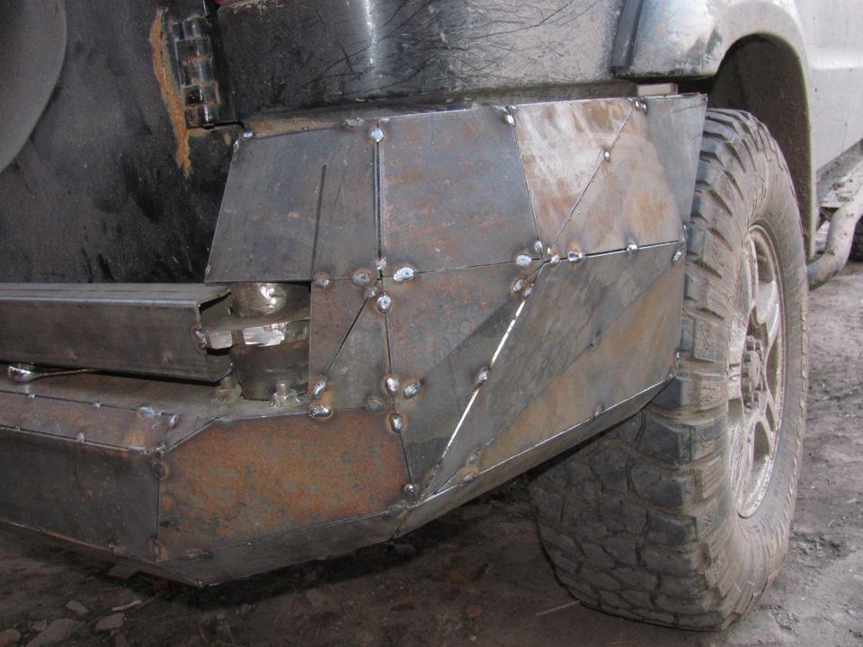 Изготовление и установка силового бампера 30