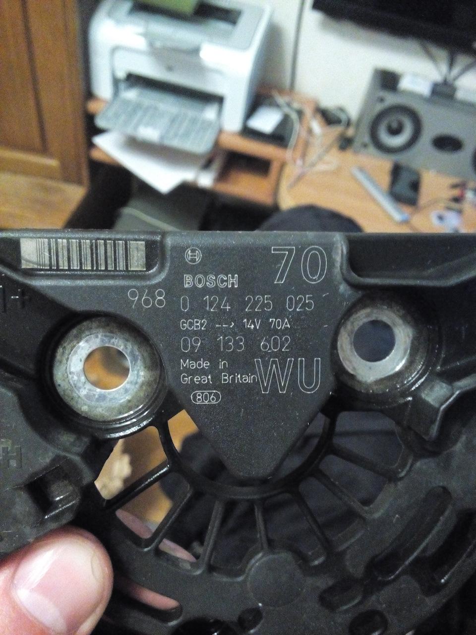 Ремонт генераторов своими руками бош