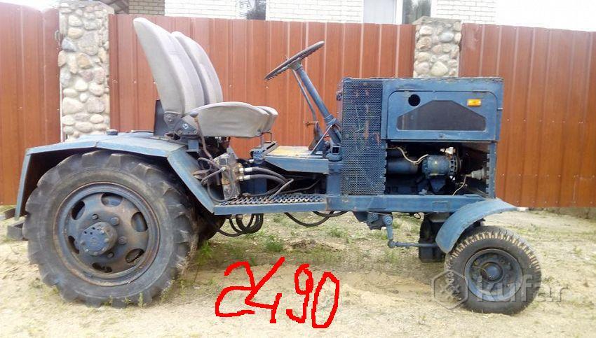 Куфар самодельные трактора 10