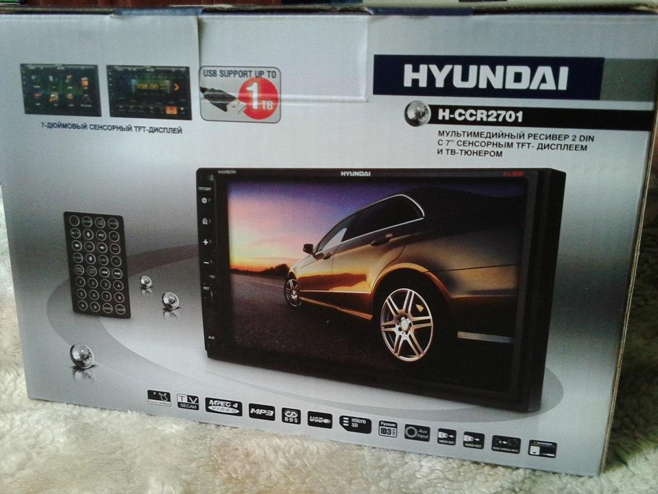 hyundai h-ccr2701g подключение управления руля