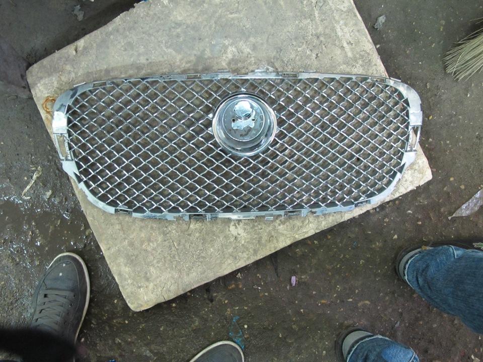 Хромируем решетка радиатора своими руками