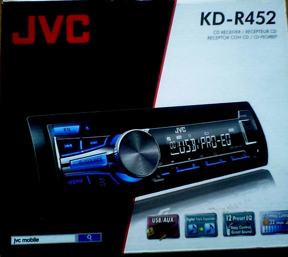 JVC KD-R452 Receiver Driver