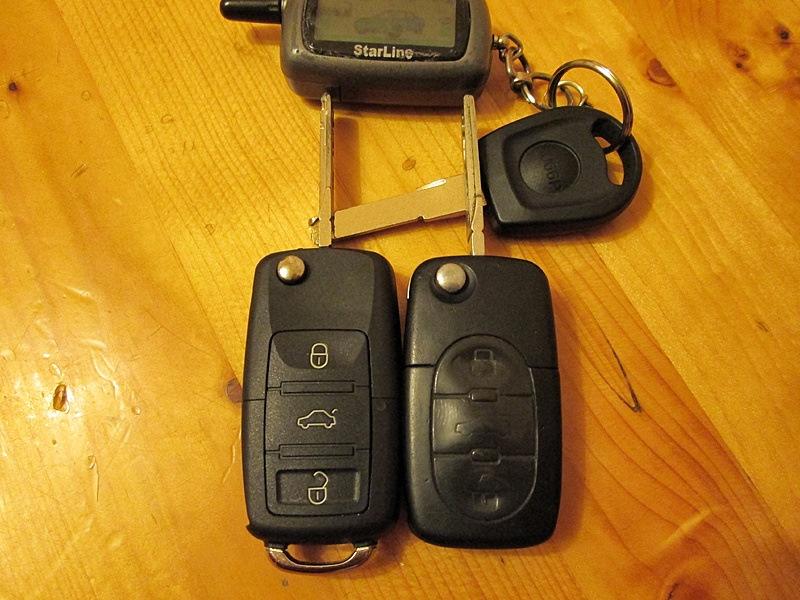 Ключи А4Б5